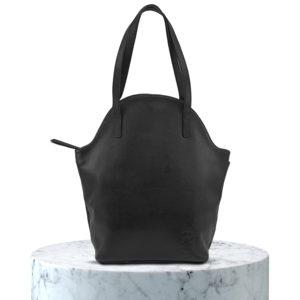 sac en cuir grainer noir