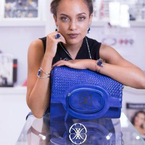 Michelle O Majorelle Bag