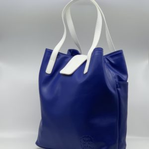 Aicha Majorelle Microfibre Shopping Bag