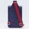 sacoche bleu et rouge