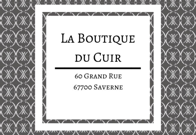 boutique cuir saverne