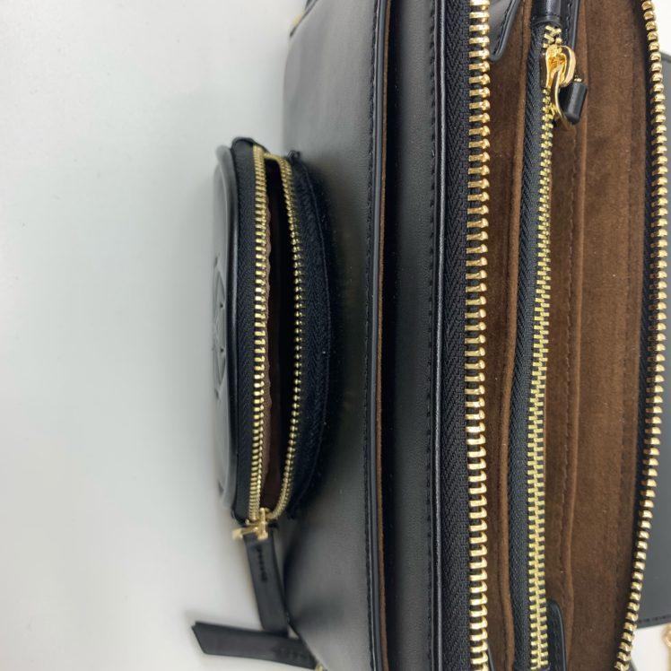 Mylène Ebene clutch bag