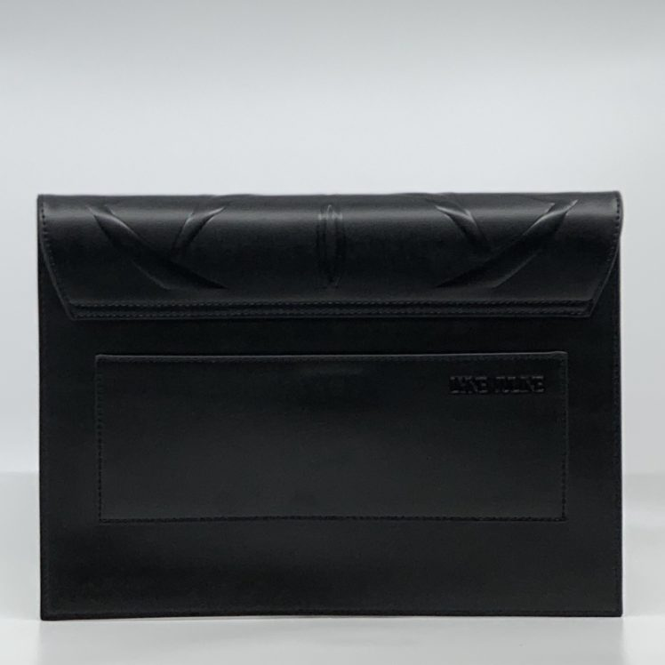 Nala Ebony clutch bag