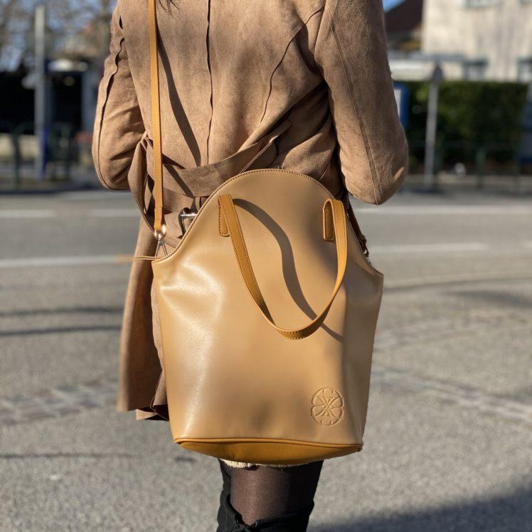 sac marie lou sahara porté