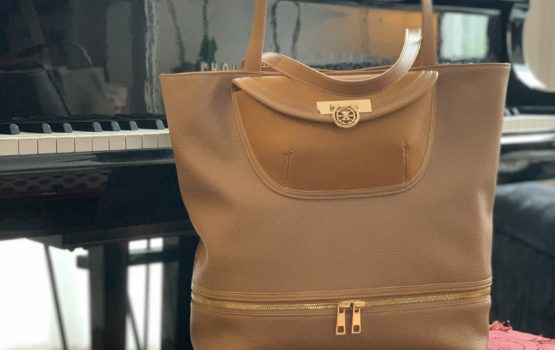 """Ludivine"", a stylish leather bag, chic and shock"